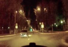 В Урае подросток на «ВАЗе» пытался уйти от погони с полицейскими
