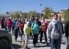 Сотрудники компании «Газпром трансгаз Екатеринбург» вышли на «Майскую прогулку»