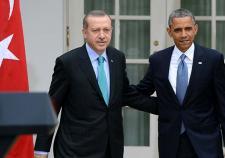 Обама одобрил шаги Эрдогана на пути восстановления отношений с Россией