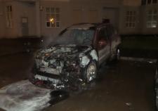 Поджог автомобиля Екатеринбург
