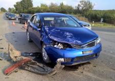 На трассе Сухой Лог – Богданович молодой водитель «Хенде» устроил массовое ДТП