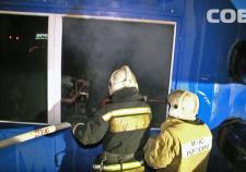 В Екатеринбурге на заправке «ЛУКОЙЛа» горела котельная