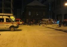 Ночью в Екатеринбурге горел ЦУМ