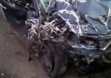 Около Каменска-Уральского водитель «Хенде» въехал в фуру и погиб