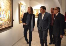 Выставка Никаса Сафронова открылась в Екатеринбурге