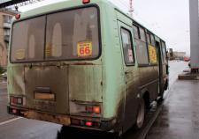 В Челябинске маршруткой управлял пьяный водитель