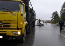 На Полевском тракте после ДТП скончался 65-летний водитель мопеда
