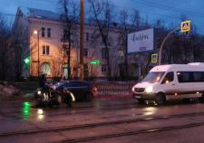 В Челябинске микроавтобус со священниками сбил пешехода