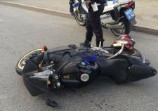 В Екатеринбурге мотопатруль устроил погоню за байкером без прав