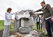 Министр финансов открыла новую аллею в Академическом районе Екатеринбурга