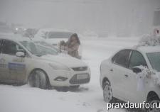 МЧС объявило штормовое предупреждение из-за сильного снегопада в Свердловской области