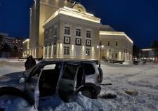СКР ХМАО расследует уголовное дело по нападению на здание МВД и банк в Когалыме