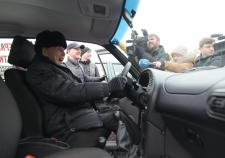 РМК подарила автомобили ветеранам ВОВ из Свердловской области