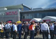 В Екатеринбурге тысячи посетителей «ИННОПРОМа» заблокировали «Екатеринбург-ЭКСПО»