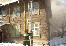 На пожаре в Сургутском районе погибло 4 человека