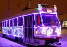 По улицам Екатеринбурга будет курсировать праздничный трамвай