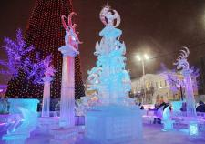 Ледовый городок Екатеринбург 2016