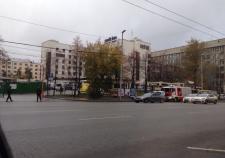 В Екатеринбурге оцепили отель Park Inn