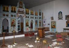 Погром в храме Нижний Тагил Вандализм