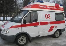 Водитель с инсультом протаранил 3 автомобиля у больницы в Тюмени