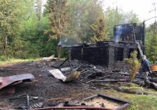 Под Нижним Тагилом в пожаре сгорела семья из трех человек