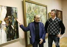 В Екатеринбурге открылась посмертная выставка Миши Брусиловского