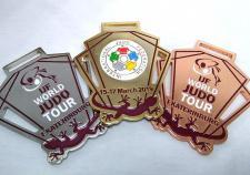 Призерам турнира по дзюдо «Большой шлем» в Екатеринбурге вручат уникальные медали