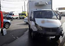 В Челябинске «ГАЗель» протаранила иномарку с 2-летним ребенком