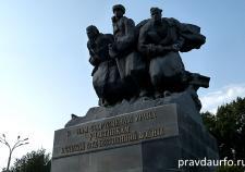 В Екатеринбурге вандалы осквернили памятник участникам Великой Отечественной войны