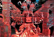 В Екатеринбурге назвали победителей фестиваля ледовой скульптуры «Вифлеемская звезда»