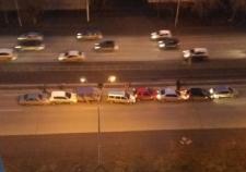 7 машин столкнулись в Екатеринбурге