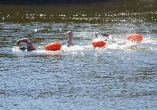 Участники Экологической экспедиции – заплыва по Тоболу преодолели первые 25 километров