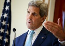 Керри заявил о солидарности США и Европы по антироссийским санкциям