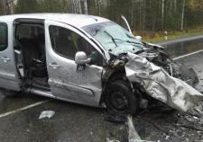 В аварии под Первоуральском два человека погибло и три пострадало