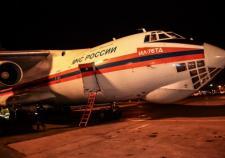Борт МЧС с телами погибших в авиакатастрофе на Синайском полуострове приземлился в Пулково