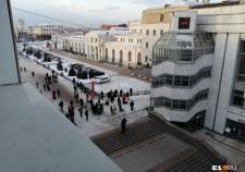 В Екатеринбурге идут массовые эвакуации из-за угрозы взрыва