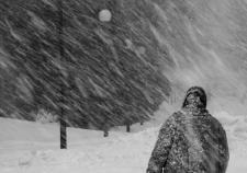 МЧС предупредило об ураганном ветре и сильном похолодании в ХМАО