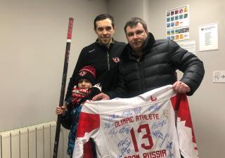 Звезда «Автомобилиста» Павел Дацюк выставил свою амуницию на благотворительный аукцион в поддержку Ани Новожиловой